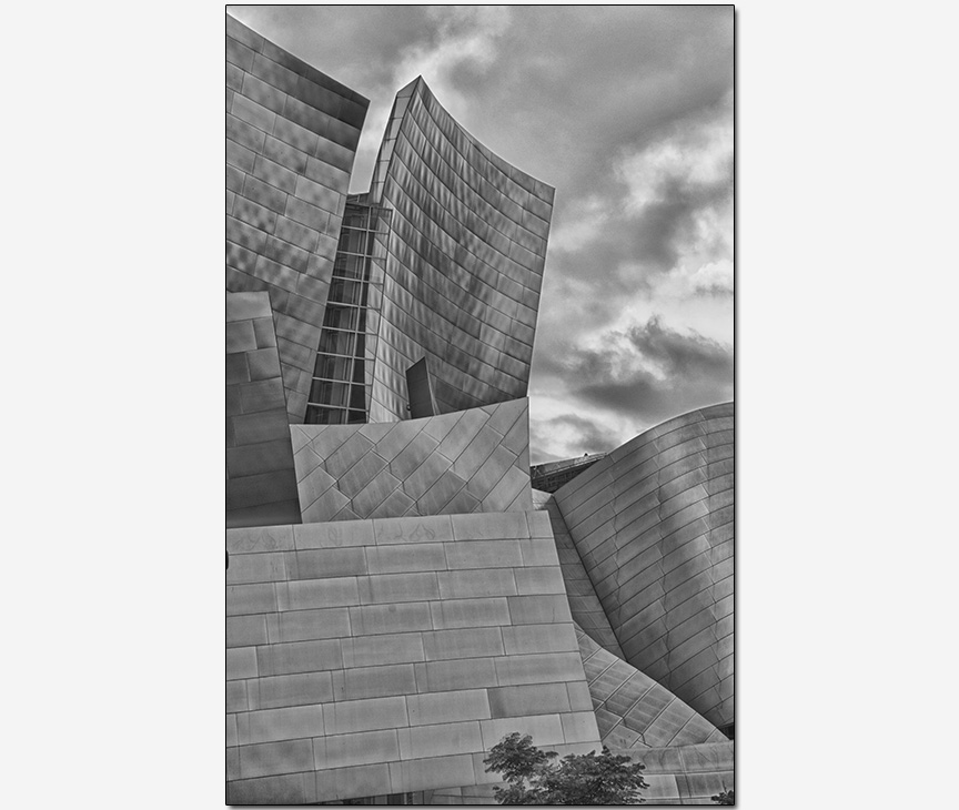 Frank Gehry architect Disney Concert Hall detail