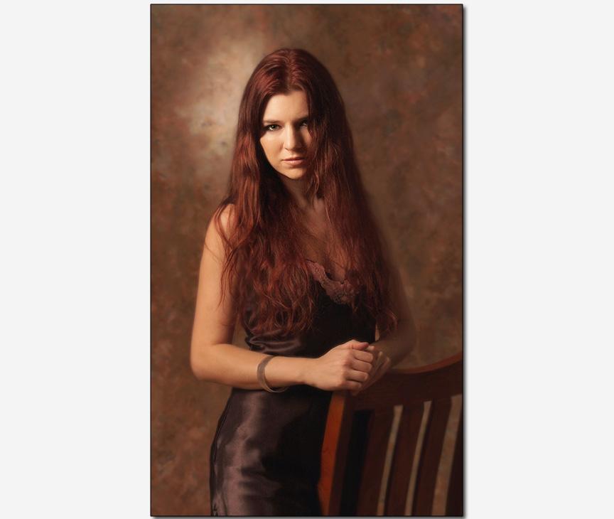 marketing advertising photo | Russian pop-musician Marina V