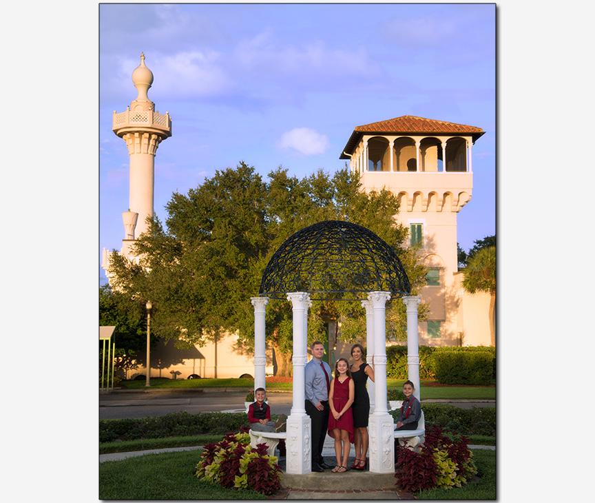 family portrait photo St Petersburg FL