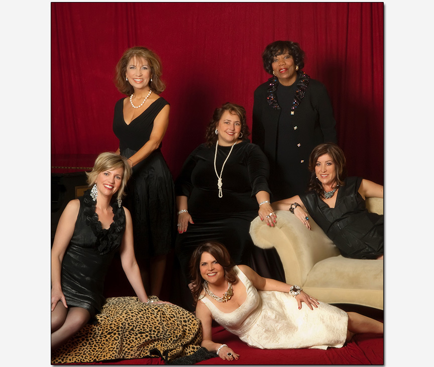 magazine advertisment featuring women executives